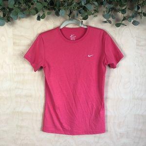 Nike Dri Fit Pink Workout tee